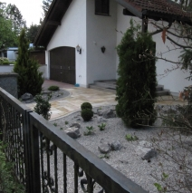 Vorgartenidylle in Gröbenzell
